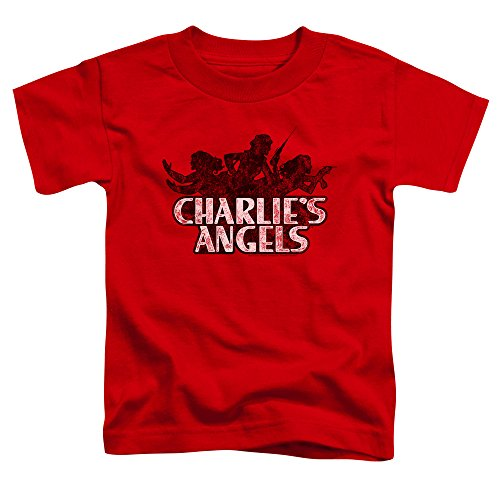 Charlies Angels Charlies Angels Vintage Logo Unisex Toddler T Shirt for Boys and Girls