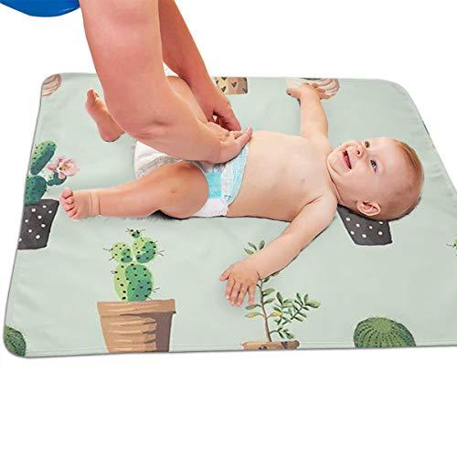 V5DGFJH.B Baby Portable Diaper Changing Pad Fleshy Cactus Urinary Pad Baby Changing Mat 31.5