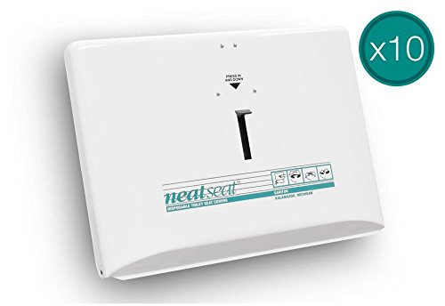 NeatSeat Dispenser Case Of 10 Painted Finish (White)