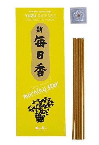 パイプ喉が渇いたなぜならMorning Star – Yuzu 200 Sticks