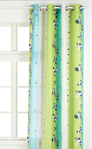Linder 0206 80 49807 375fr Curtain With Eyelets 135 X 260 Cm Lime
