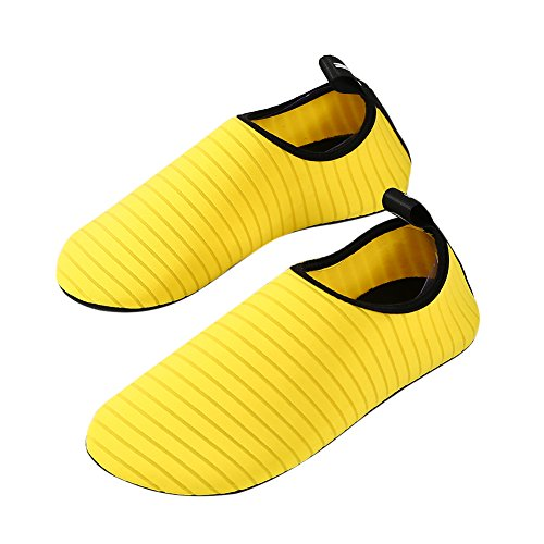 Footwear Yellow Shoes Fitness Yoga Beach Aqua Socks House Shoes Driving Mens Surf Women Quick Slippers Barefoot Summer Dry Swim Sport Water For w1CqI