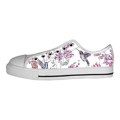 Custom Hummingbird Mens Canvas shoes Schuhe Lace-up High-top Sneakers Segeltuchschuhe Leinwand-Schuh-Turnschuhe C