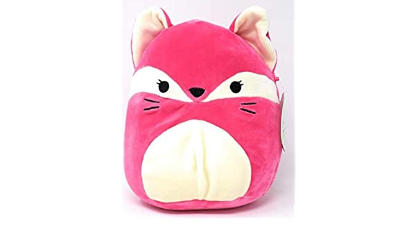 "Kellytoy Squishmallow 8/"" Hot Pink Fox Soft Plush Animal Toy Pillow Pet"