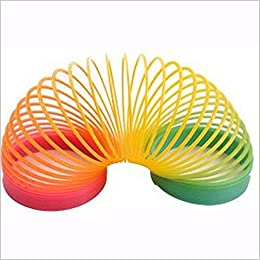 Creatif Ventures Magic Spring Rainbow - Bouncy Expandable Slinky Toys (Pack of 2)