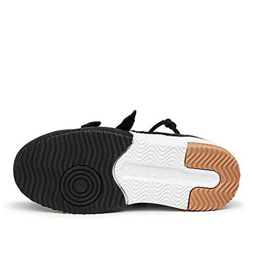 casual Dimensione Scarpe Bianca all'aperto Traspirante Velcro Casual da Sneakers autunno da da mesh scarpe donna Scarpe Primavera e Moda donna piatte viaggio Scarpe Rosso 3 Scarpe Colore Nuove casual fF7wPf