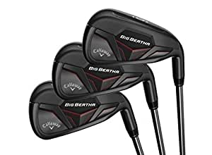 Callaway Golf 2019 Men's Big Bertha Iron Set (Set of 7 Total Clubs: 4-PW, Left Hand, KBS Max 90 Steel Shaft, Regular Flex)