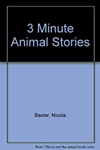 Hardcover 3 Minute Animal Tales Book