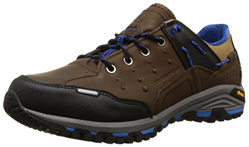 TBS Mens Gowell Leather Waterproof Outdoor Lace Up Shoe Marron