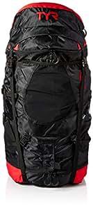 TYR Elite Convoy Transition Bag: Black/Red