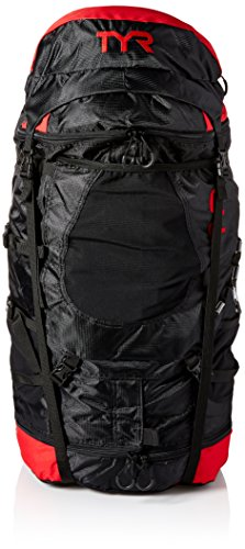 TYR Elite Convoy Transition Bag: Black/Red by TYR