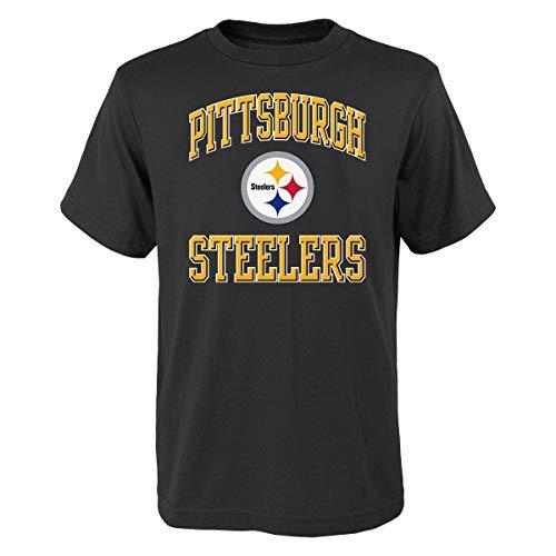 T-shirt Ovation Print (Outerstuff Pittsburgh Steelers Youth NFL Ovation Short Sleeve T-Shirt)