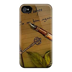 Premium Tpu Wishes Cover Skin For Iphone 4/4s by supermalls