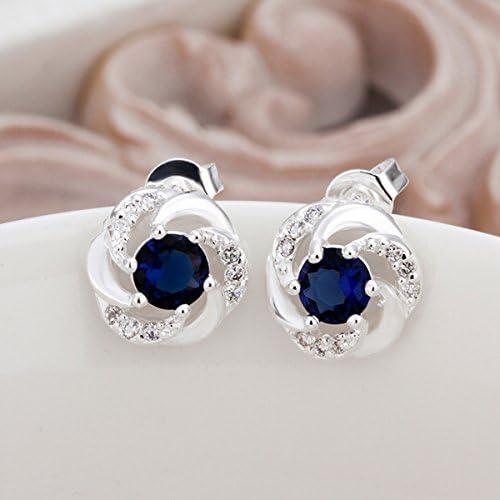 Earrings Crystal Gem Personalized Charm 2018 New Earrings LKNSPCE439 LEKANI Ms