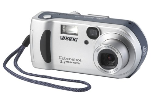 Sony DSCP71 Cyber-shot 3MP Digital Camera w/ 3x Optical Zoom