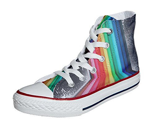 Converse All Star Customized - zapatos personalizados (Producto Artesano) Tridimensional