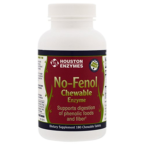 Houston Enzymes No-Fenol Chewable Multi-Enzyme 180 Chewable Tablets Review