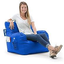 Big Joe Dorm Bean Bag Chair, Sapphire