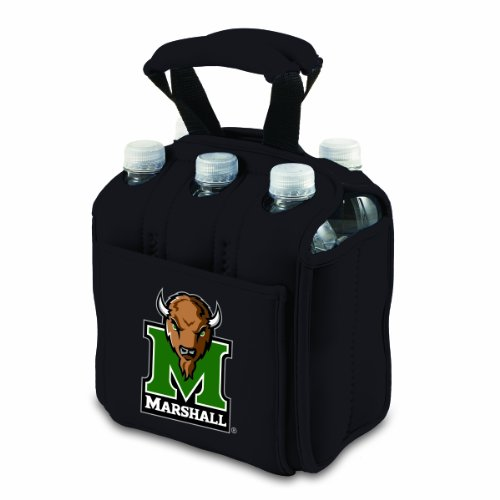 NCAA Marshall Thundering Herd Six Pack Cooler Tote (Marshall Thundering Herd Bottle)