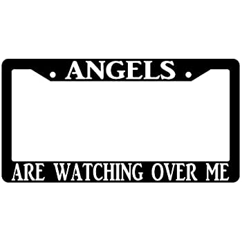 """Chrome License Plate Frame /""""My Heart Belongs In Paris/"""" Auto Accessory Novelty"""