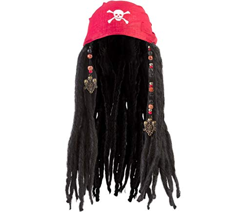 Amscan Bandana with Dreads - Costume Accessory
