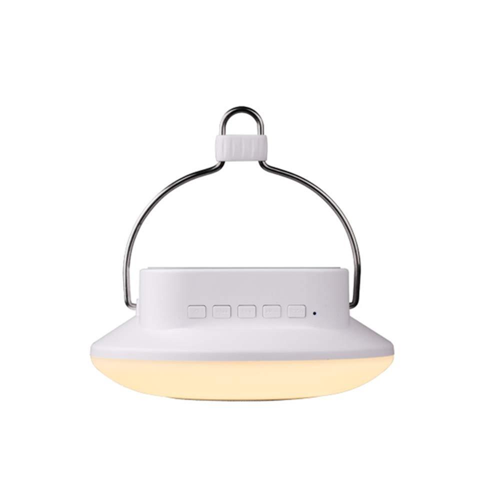 Campeggio luce esterna portatile blutooth altoparlante lampada Touch Control RGB 7 colore luce notturna SOS aiuto USB ricaricabile LED tenda luce per campeggio di emergenza