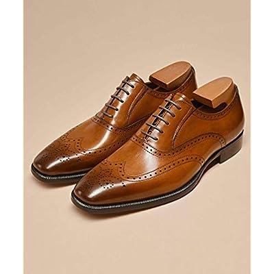 Frasoicus Men's Dress Shoes Classic Leather Business Oxfords Formal Dress Shoes for Men | Oxfords