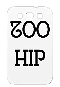 TPU Shock Absorption Zoo Hip Typography Love New York City Fashion Hipster Girl Brand Women Cover Case For Sumsang Galaxy S3 Black