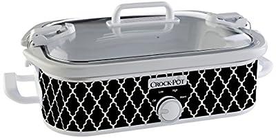 Crock-Pot SCCPCCM350-CR Casserole Crock Slow Cooker, 3.5-Quart