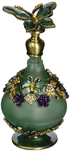 H&D Retro Mini Green Butterfly Perfume Bottle 24ml