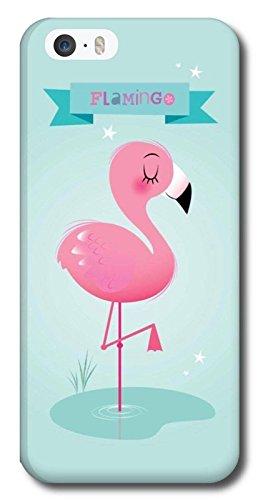 Cover Iphone 7 Fenicottero Flamingo Rosa Con Sfondo Tiffany