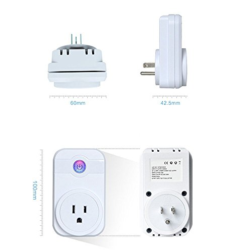 Smart home WiFi smart SWA1 plug Works with amazon alex Can be controlled by  Andriod/iOS eFamily Cloud app,SWA1 WiFi smart Socket Outlet
