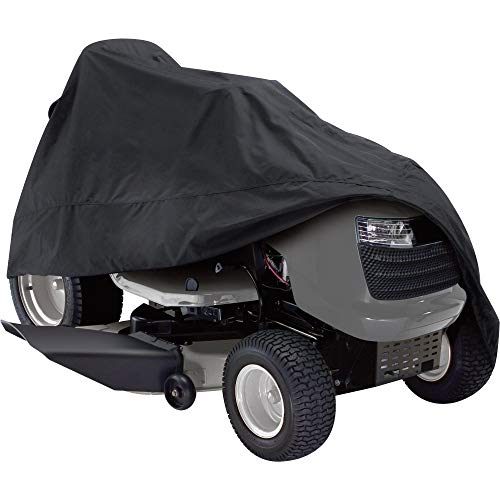 Classic Accessories Deluxe Riding Lawn Mower Cover, Up to 54
