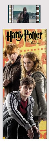 Film Cell Genuine 35mm Laminated Bookmark USBM549 Harry Potter Deathly Hallows (Harry Potter And The Deathly Hallows Drawings)