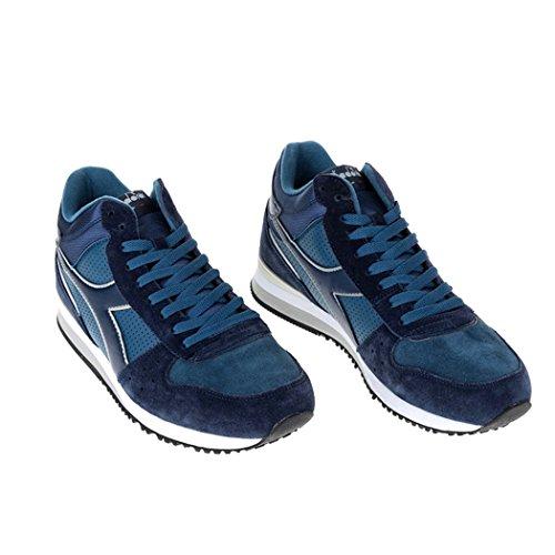 a Uomo Diadora Mid Grigio Sneaker S Basso Collo Malone w0SqzI