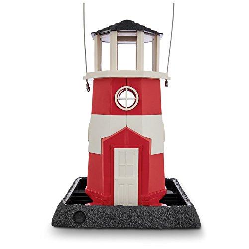 Feeder Bird Colors - North States Village Collection Light House Birdfeeder- Red/White