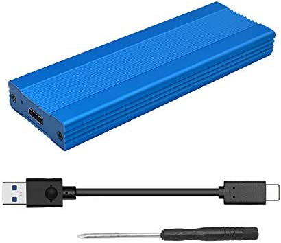EDTara NVME M.2 Carcasa Type-C 3.1 Caja HDD Mobile HDD Box Tipo C 3.1 ASM2362 m.2 USB3.1 PCIE SSD PCI-E TYPEC SSD Funda Azul: Amazon.es: Hogar
