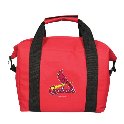MLB St. Louis Cardinals Soft Sided 12-Pack Cooler Bag