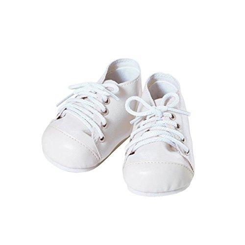 Adora Baby Doll Shoe, White/White free shipping