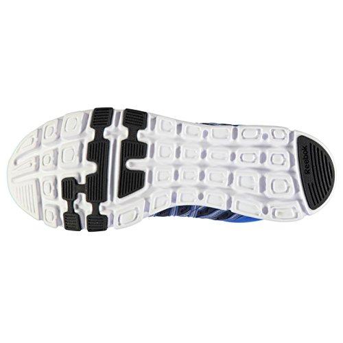 Reebok Hombre Yourflex 8 Zapatillas Con Cordones Textil Zapatos Construccion Azul marino/azul/blanco