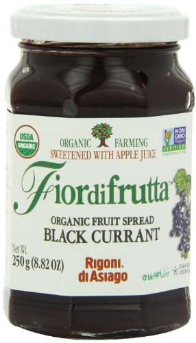 Rigoni di Asiago Fiordifrutta Organic Fruit Spread Black Currant -- 8.82 oz by Rigoni Di Asiago