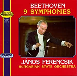 Beethoven: The Nine Symphonies / Ferencsik, Hungarian State
