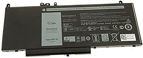 Brand New 6MT4T battery for Dell Latitude E5470, E5570 7.6V 62Whr 4C Lithium-Ion 7V69Y TXF9M 79VRK