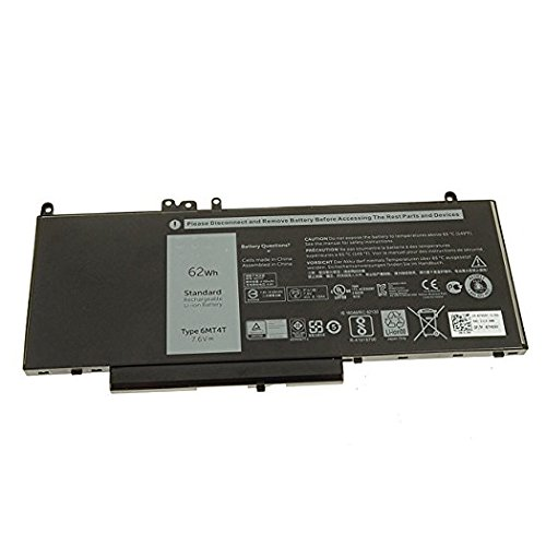 Brand New 6MT4T battery for Dell Latitude E5450, E5470, E5550, E5570 7.6V 62Whr 4C Lithium-Ion 7V69Y TXF9M 79VRK