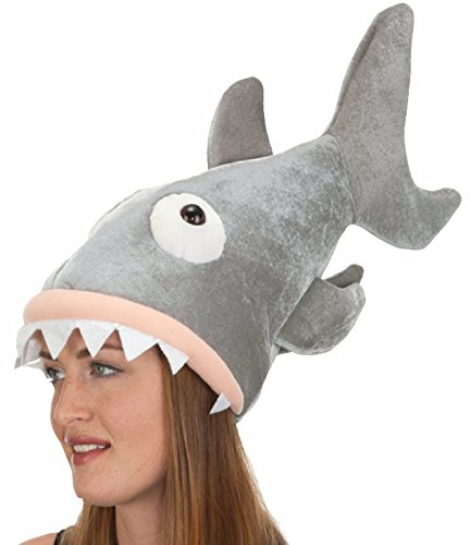 Jacobson Hat Company Shark Hat (Shark Hat Costume)