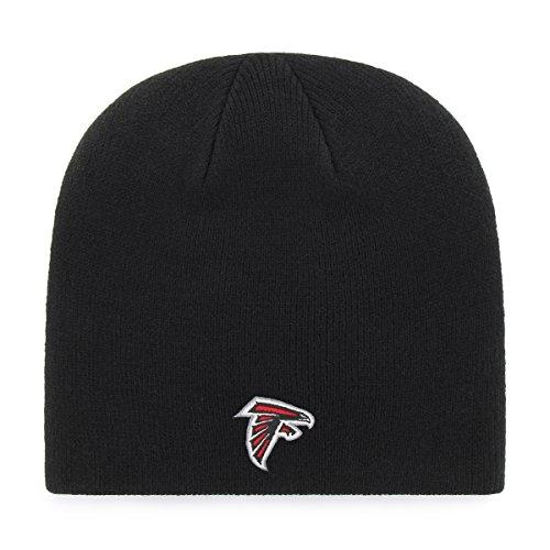 OTS Adult Men's NFL Beanie Knit Cap, Team Color, One Size Atlanta Falcons Black Official Sideline