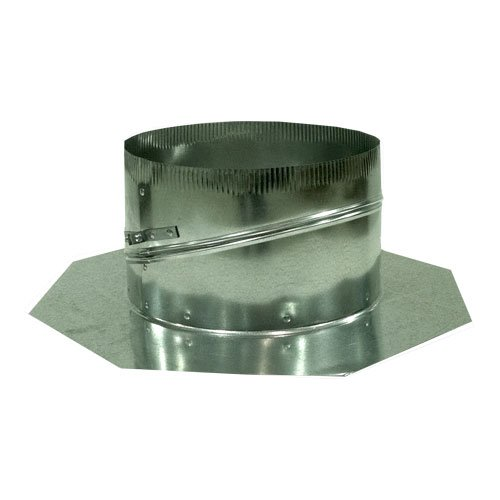 Adjustable Roof Base, 10 in. Galvanized