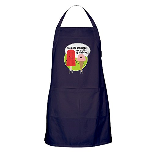 CafePress Popsicle Stick Kitchen Apron with Pockets, Grilling Apron, Baking Apron (Best Popsicle Stick Jokes)