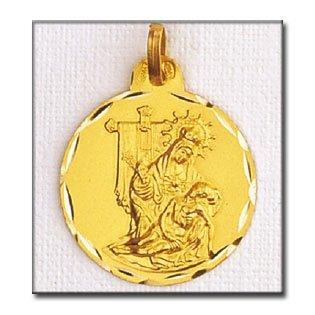 Medalla Vierge De La Caridad D'or