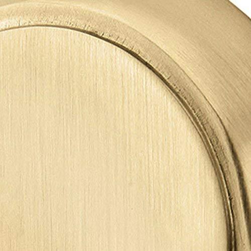 Emtek 86457US4 Urban Modern 1-1/8 Diameter Mod Hex Geometric Knob (25 Pack) - Satin Brass